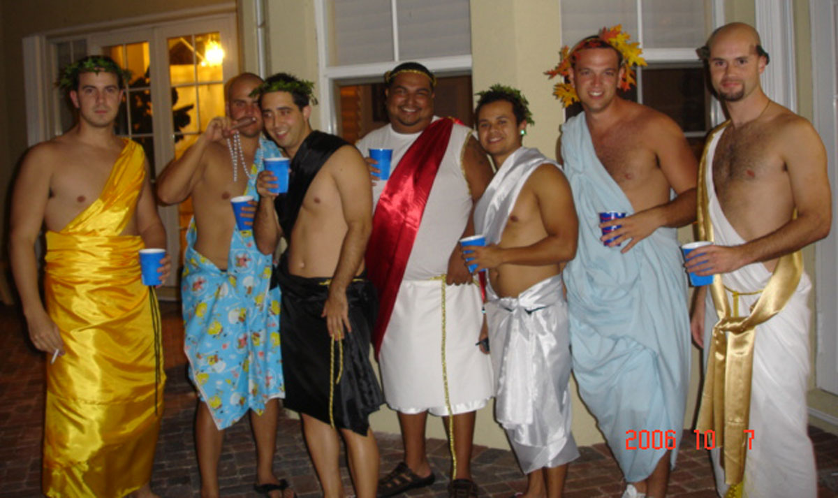 Toga Parties -- A Thing of the Past