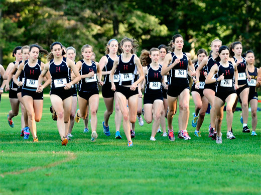 Haverford Girls Cross Country Team
