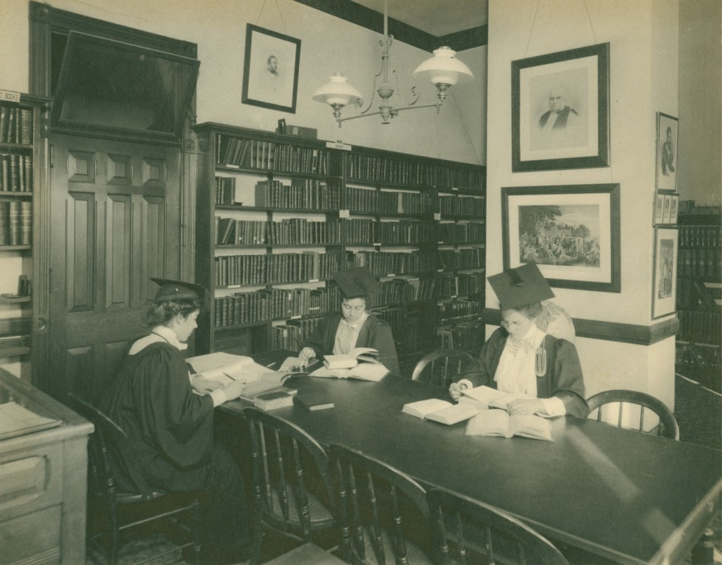Studying at Bryn Mawr circa 1900s